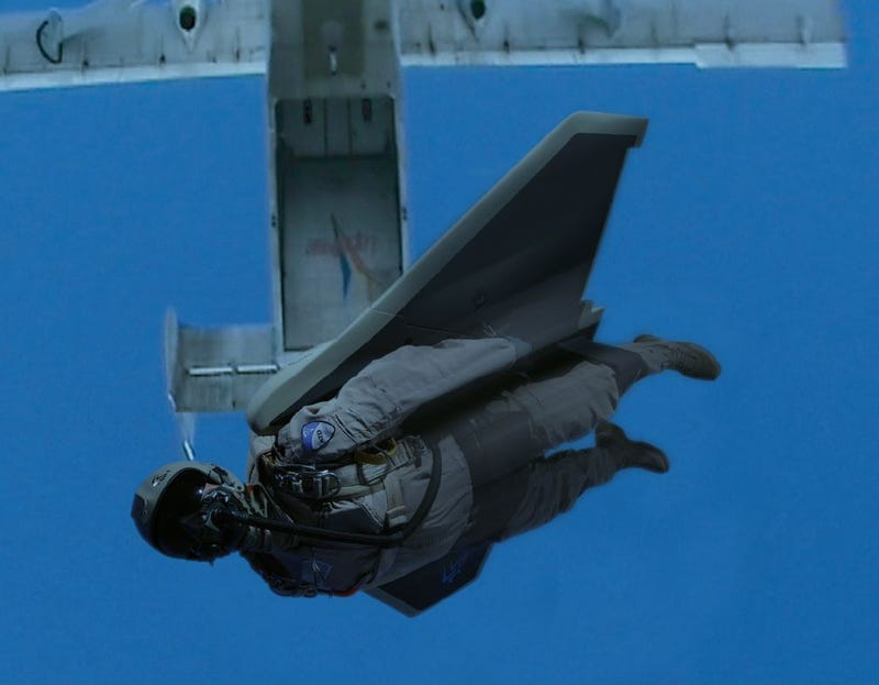 Special Forces Soldiers Could Be Zooming Into Combat Wearing Gryphon Stealth Wingsuits