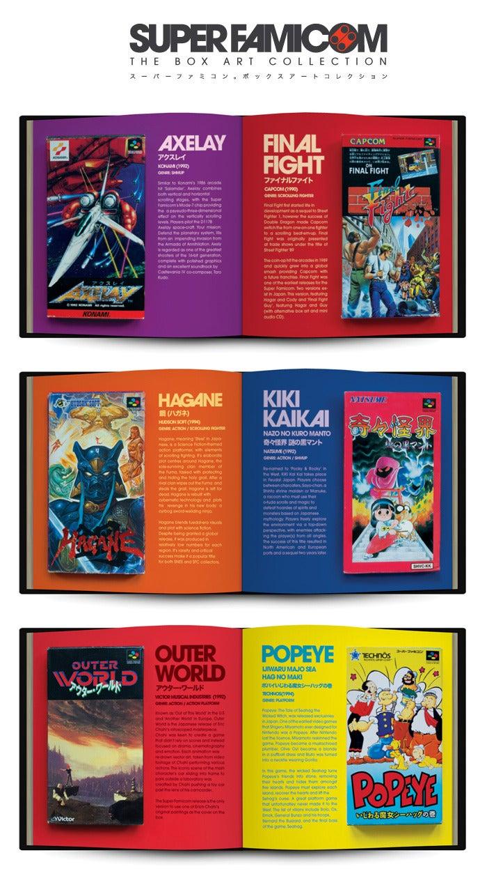 Super Famicom Box Art Collection Kickstarter