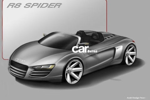 Report: Smuggled Audi Sketches Show Proto R8 Spider, A1