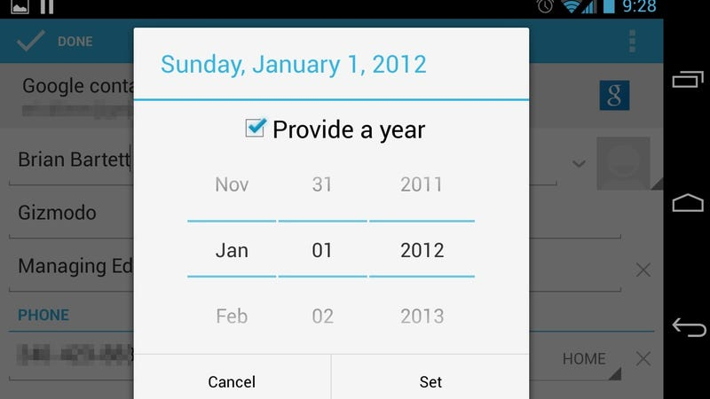 Android 4.2 Is Missing a Very Important Feature: December
