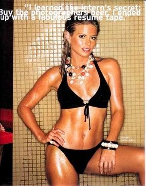 "Secret Bikini Shots Of Fox News ""Bonehead"""