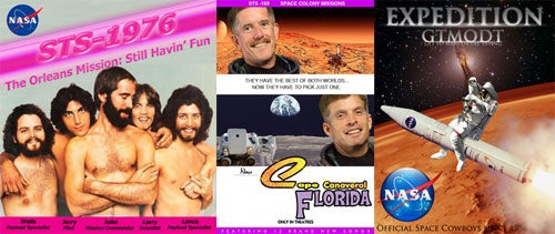 15 NASA Posters Even Crazier Than the Real Thing