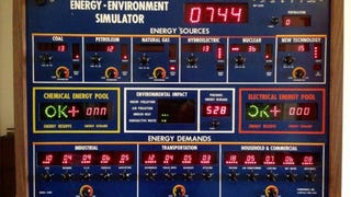 This 1970s Energy Simulator Was Supposed to Make Conservation Fun