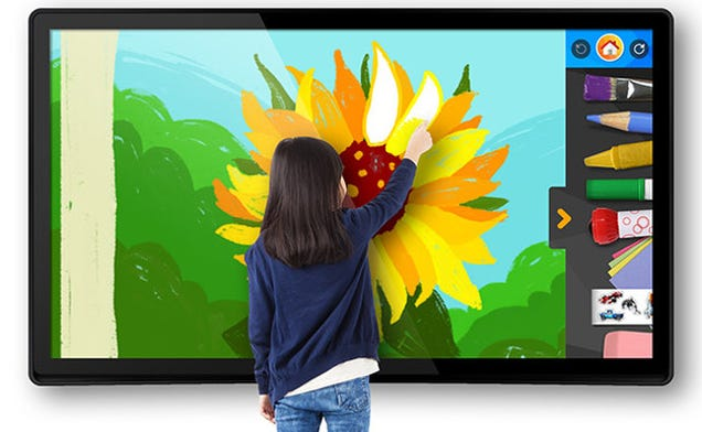 You Could Hang These Giant Family-Friendly Tablets on Your Walls