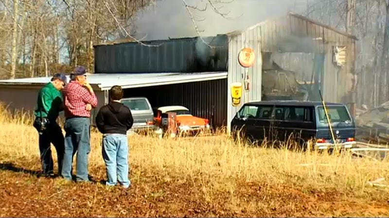 Get Your Sad Faces Ready: 50 Studebakers Destroyed In Fire