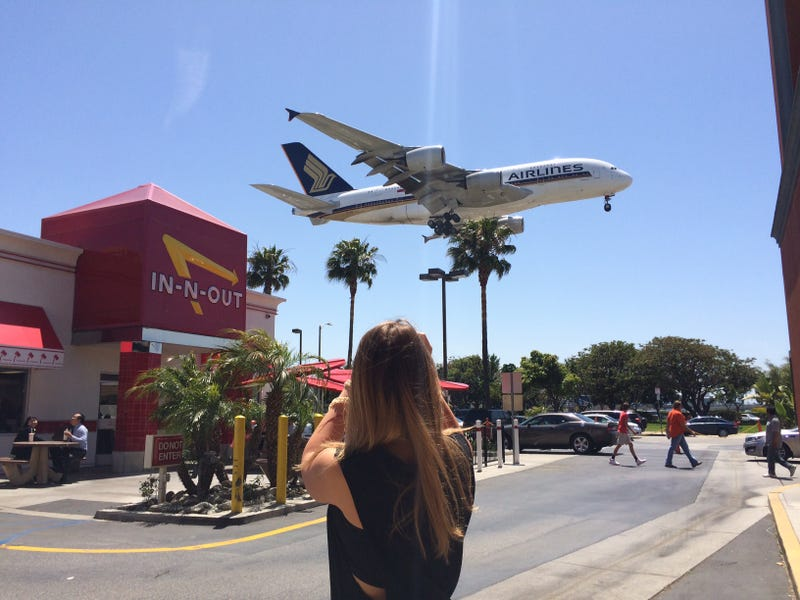 Burgers and Planes: LAX