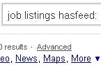 Windows Live Search Offers Results with Only Feed-Having Sites