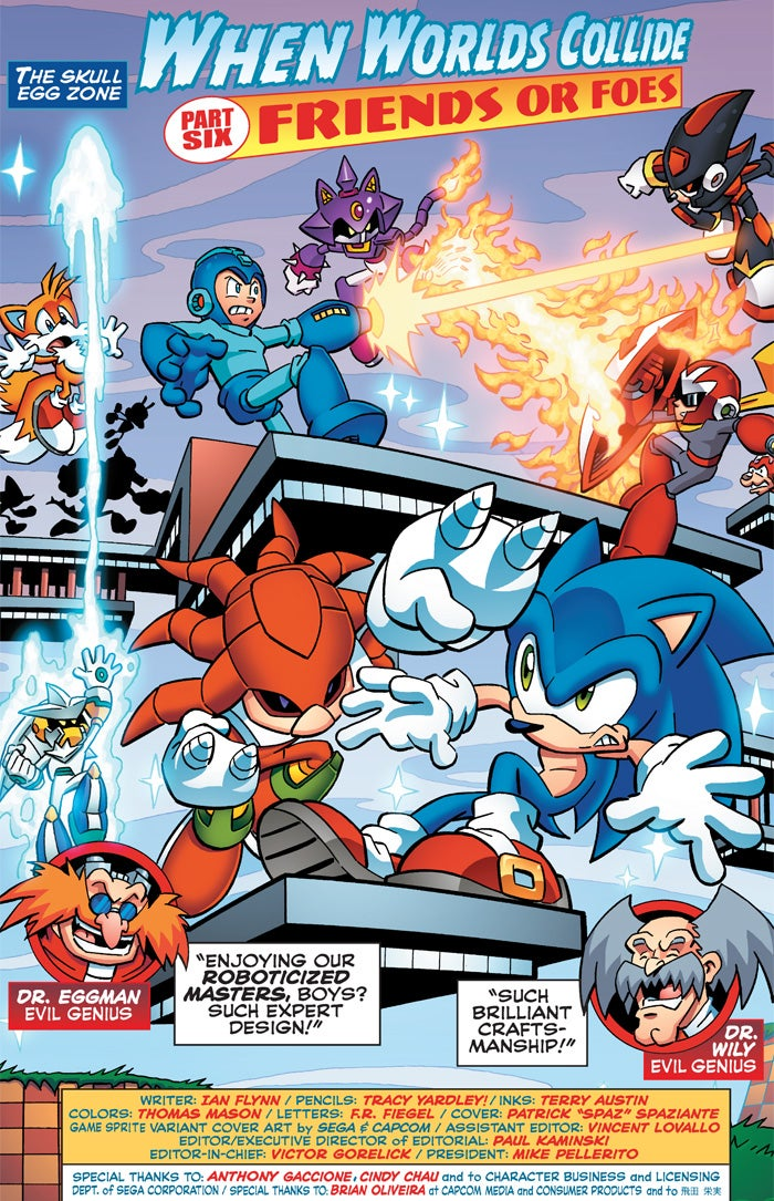 Sonic and Mega Man's Enemies Team Up to Make Some F***ed-Up Robots