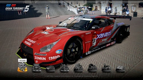 Gran Turismo 5 First Screenshots