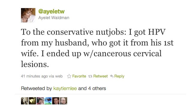 Michael Chabon Gave His Wife HPV, Tweets Wife