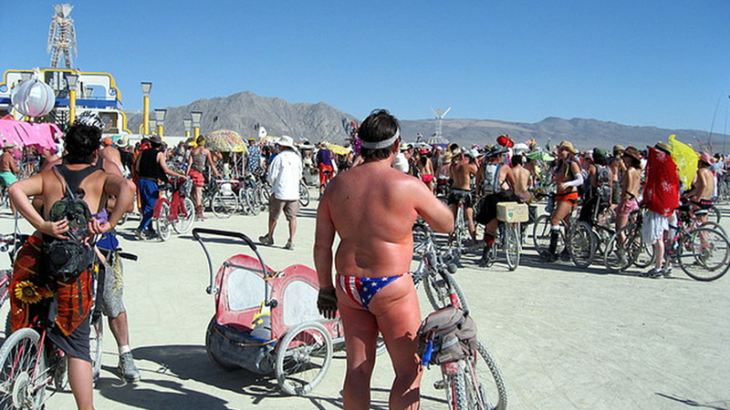 Federal Agents Are at Burning Man, and They're in Costume
