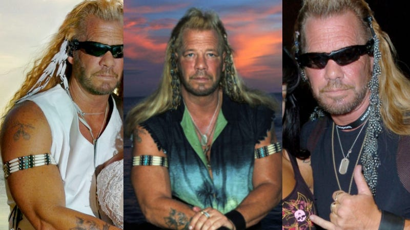 No One Wears Hair Feathers Like Dog the Bounty Hunter Wears Hair Feathers