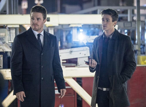 Get the first look at Barry Allen on Arrow!