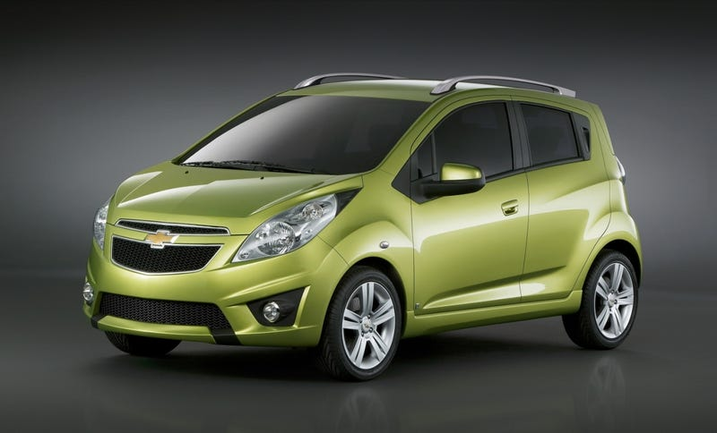 Chevy Spark Headed To Geneva