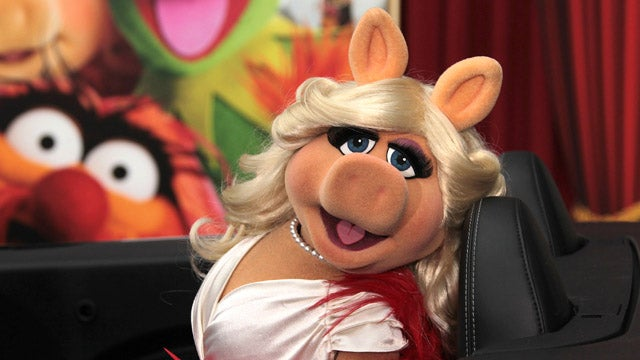 Miss Piggy's Wild Ride Down The Red Carpet