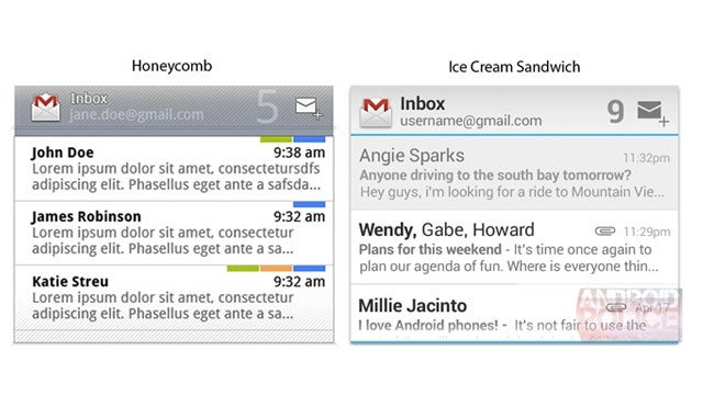 Ice Cream Sandwich Widget Leaks Look Delicious