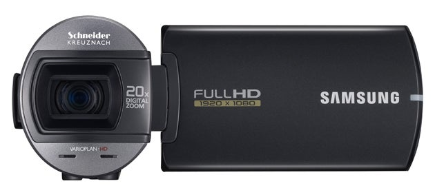 Turn Samsung's HMX-Q10 Camcorder Upside Down For Full HD Recording