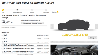 The 2014 C7 Corvette Stingray Configurator is LIVE!