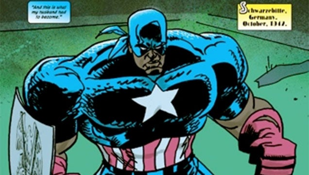 The Next Captain America Is Black