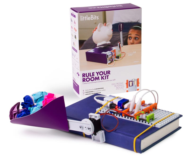 This LittleBits Kit Lets Kids Boobytrap Their Room
