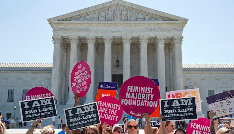 Supreme Court Strikes Down Texas Law That Blocked Women From Getting Abortions