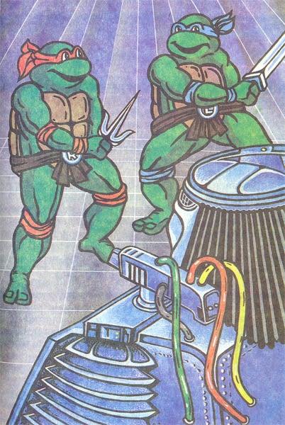 Predator teams up with the Ninja Turtles in deranged Russian children's books