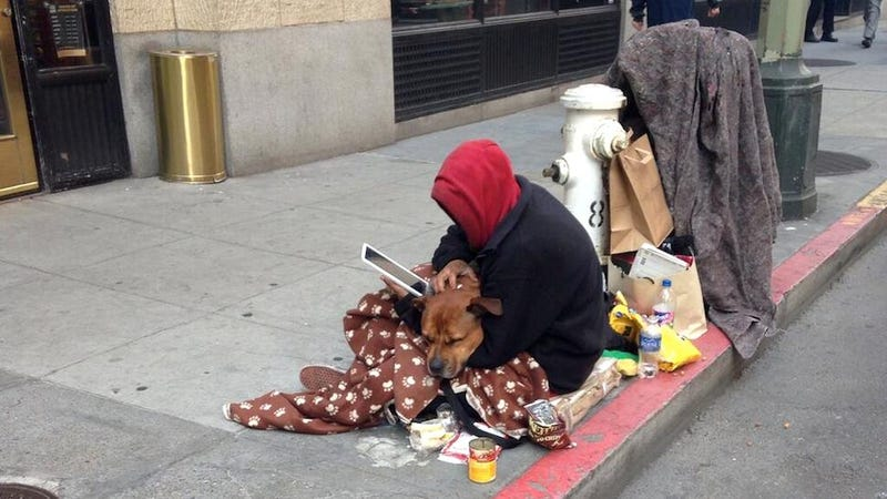 A Rich Technologist Encounters a Homeless Person