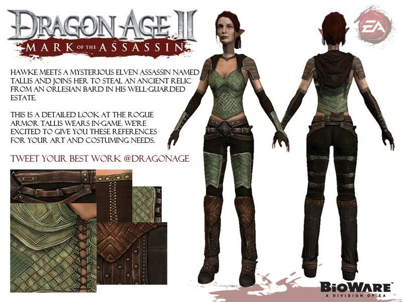 Felicia Day's Dragon Age II Character Tallis Needs a Virtual Fashion Makeover—Here's How She Should Look!