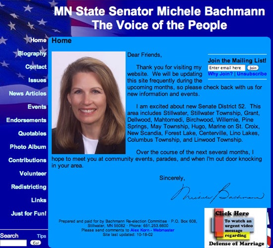 Exploring The Old Websites Of Republican Candidates