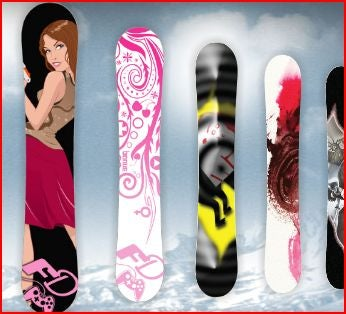 Design Your Own Board for Shaun White