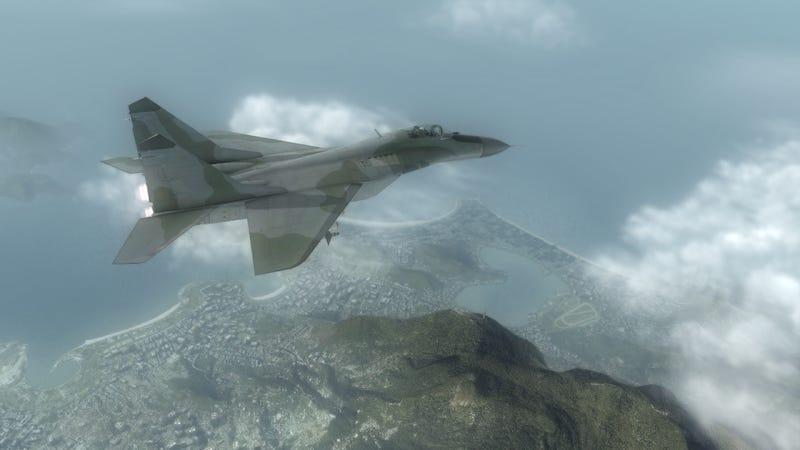 Tom Clancy's H.A.W.X. Eye In The Sky