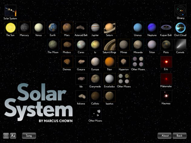 A Breathtaking Journey to the Solar System, Through the iPad