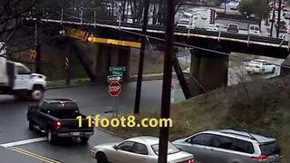 "11'-8"" Bridge Strikes Again. Twice this Month Already"