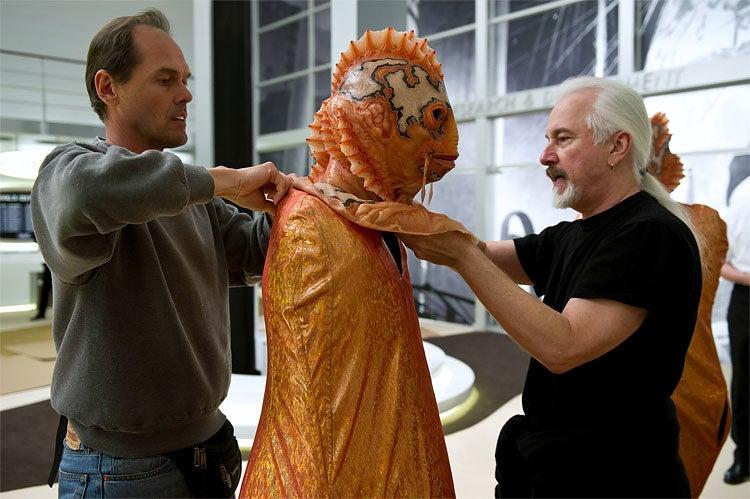 Every one of Rick Baker's aliens from Men In Black III is a work of art