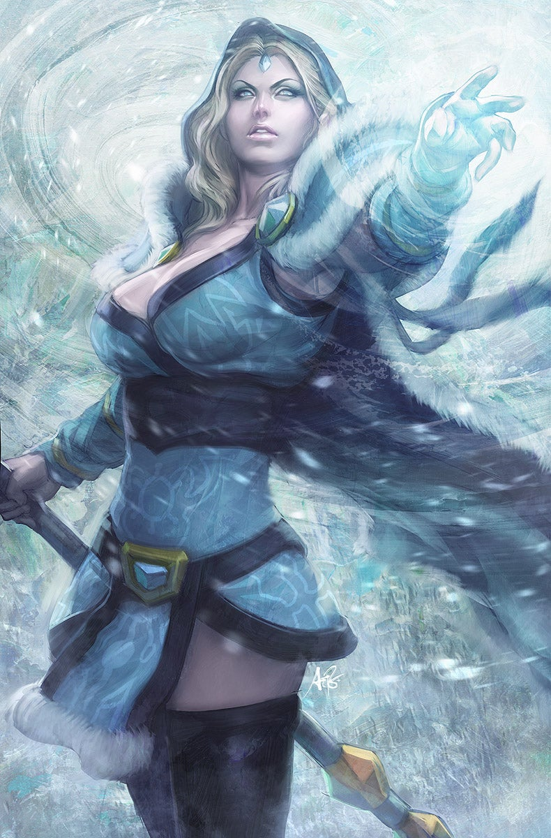 Does DOTA 2 Fan Art Get Better Than This? How About Sexier?