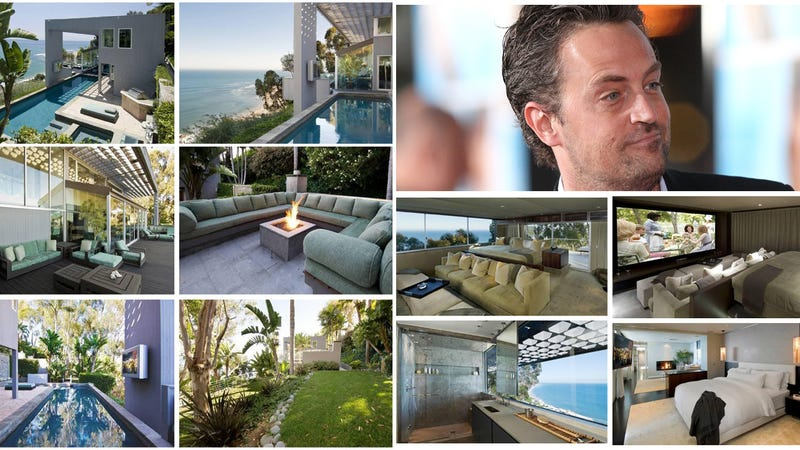 Matthew Perry Lists His Malibu Manse on the Cliffs