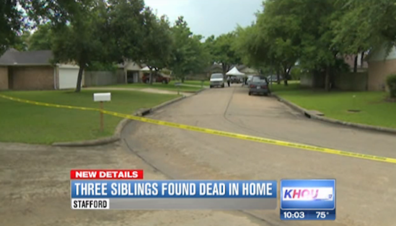 Three Texas Siblings Dead in Apparent Murder-Suicide
