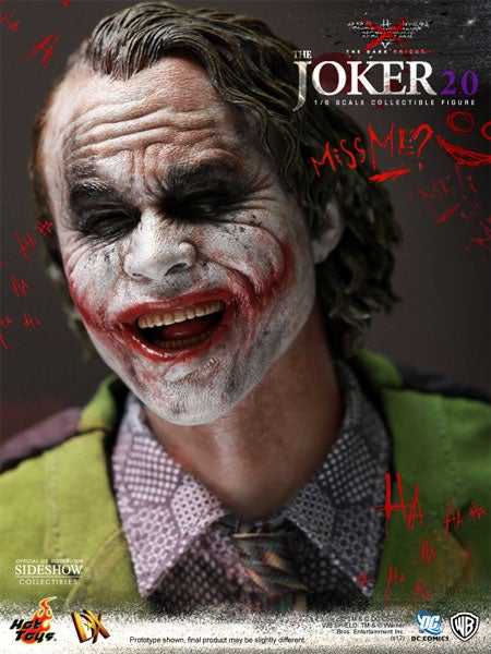 Is This a Photo of Heath Ledger, or a Joker Action Figure?