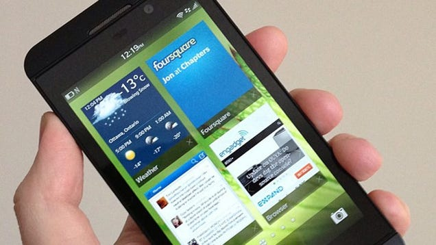 new smartphones run android apps on blackberry z10 its high-end