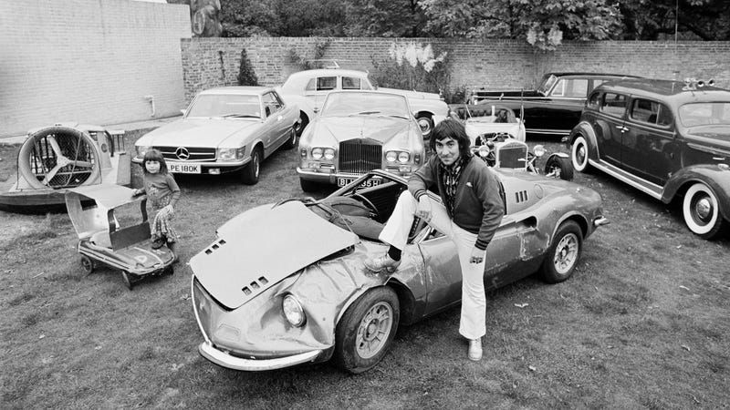 How Many Times Did The Who Drummer Keith Moon Drive A Car Into A Pool?