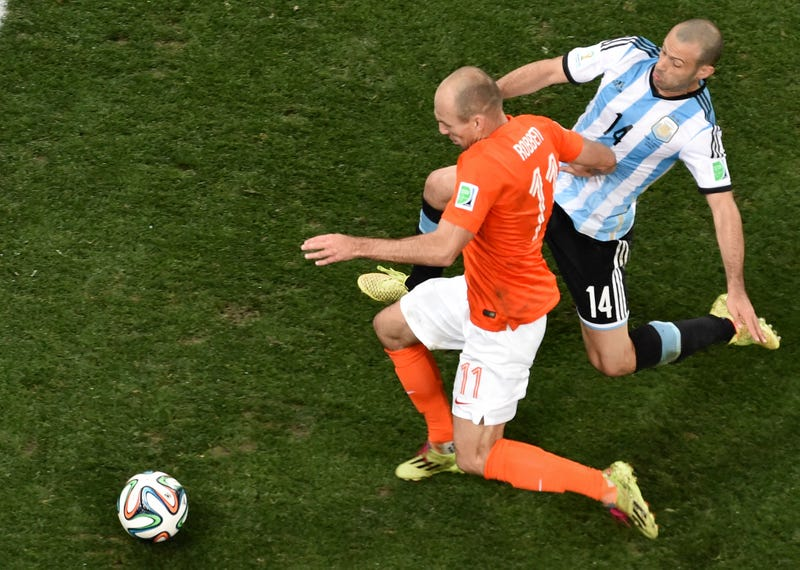 Argentina's Javier Mascherano Says He Tore His Anus Against The Dutch