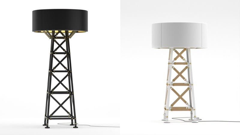 The Construction Lamp: An Oil Derrick Look, Inspired by Tinker Toys