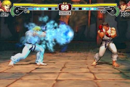 Street Fighter IV iPhone Review: A Party For One