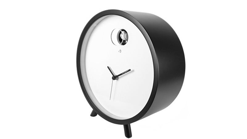 A Modern Desktop Cuckoo Clock That Won't Keep You Up All Night