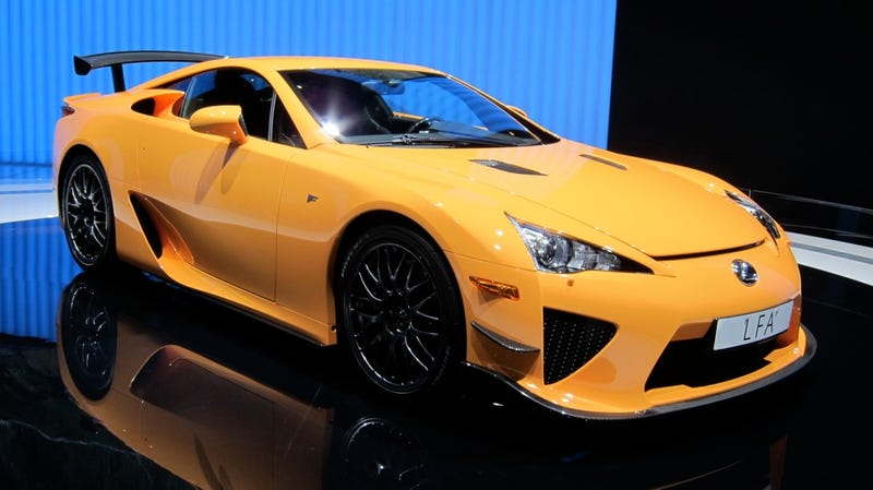Lexus LFA Nürburgring Package is a special delivery for 'Ring rats