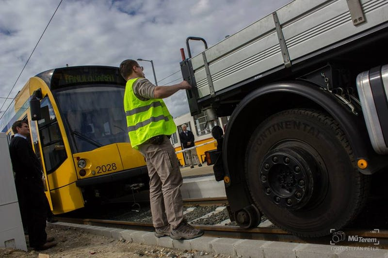 The World's Longest Tram Got A Bit Shorter After This Crash