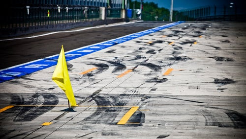 What Tarmac Looks Like After a Formula One Race