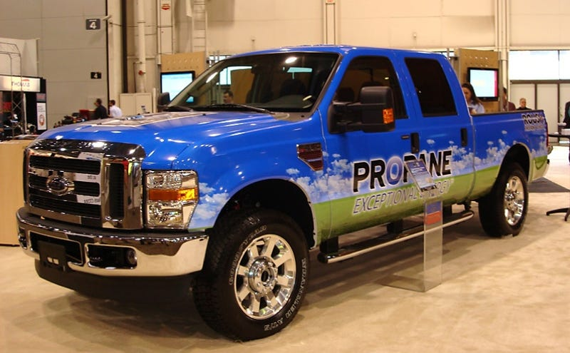 Roush Propane-Powered F-250: Hank Hill-Approved