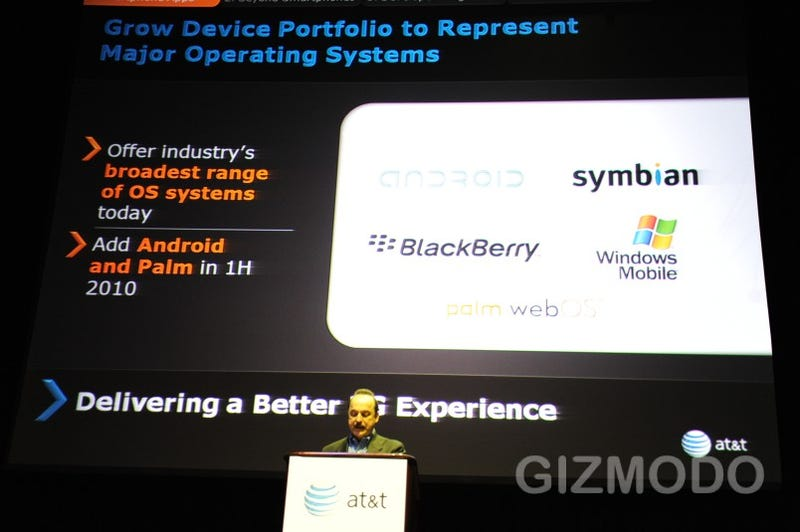 AT&T's Getting Two Palm webOS Phones This Year