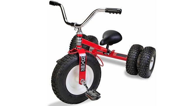This Off-Road Tricycle Is the Most Bad-Ass Way To Rule the Playground